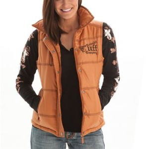 cowgirltuffbrownvest