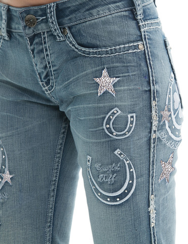 Cowgirl Tuff Double Lucky Unbelievable Jeans Ive Got