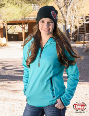 turquoise-athletic-cadet-zip-with-drawstring-hood