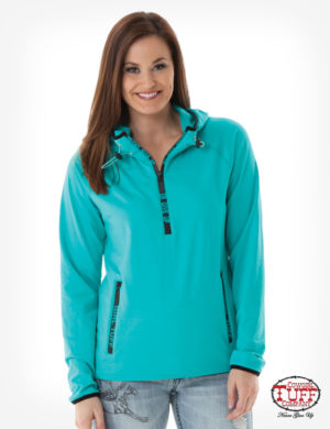 turquoise-athletic-cadet-zip-with-drawstring-hoodie